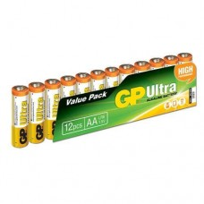 GP Ultra 1.5 V AA Kalem Pil - 12'li Ekonomik Paket