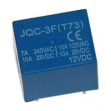 12 V 7 A Tek Kontak Röle - JQC-3F(T73)-12VDC