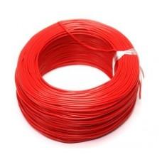 100 Metre Çok Damarlı Montaj Kablosu 24 AWG - Kırmızı