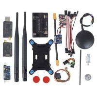 APM2.6 Uçuş Kiti - 6M GPS, Pusula, Güç Modülü, Telemtry Modülü