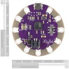 LilyPad Arduino USB (ATmega 32u4 işlemcili)