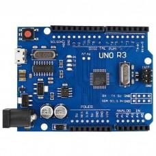 Arduino UNO R3 Klon - USB Kablo Hediyeli - (USB Chip CH340)
